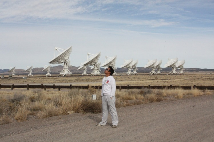Very Large Array in New Mexico, US