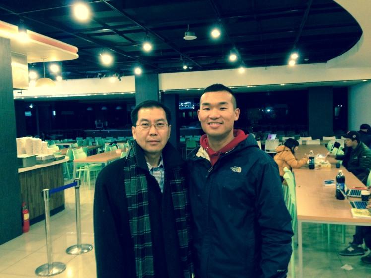 Prof. Lee at Handong U.